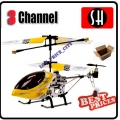 6020 Yellow RC Infra Micro 3 CH V Max Metal Frame Helicopter