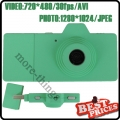 Green Mini Digital Camera Five Colors as Camera USB Direct Micro SD Movie