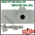 White Mini Digital Camera Five Colors as Camera USB Direct Micro SD Movie
