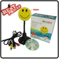 Smile Face Pin Mini Voice Recorder Spy Camera Digital Video Recorder with MP3