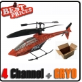 Orange GYRO 4ch 4 Channel RC Mini Helicopter Toy HCW 531+ USB + Free Shipping