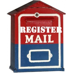 Register Mail Postal Insurance Service with Tracking number for your item