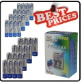 16x AA +16 AAA NIMH Rechargeable Battery + Wall CHARGER