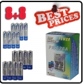 CHARGER + 8 AA 8 AAA NiMH Rechargeable Recharge Battery