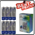 8 X AA Ni-MH Rechargeable battery MP3 4+battery charger