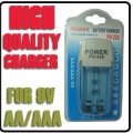 9V 2A 3A High Quality Fast Charging Rechargeable Battery Charger PO-228