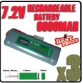 3 pcs 7.2V Ni-MH Rechargeable Battery Pack RC