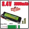 8.4V NiMH Super Power Rechargeable Battery Pack For Airsoft RC