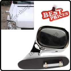 New Universal Fit Auxiliary Exterior Blind Spot Chrome Parking Right Side Mirror