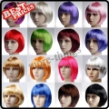 Many Colors New Fashion Short Straight Cosplay Party Wig
