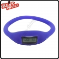 Purple New Fashion Silicone Rubber Nagative Sport Wristwatch Unisex Wholesale