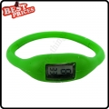 Green New Fashion Silicone Rubber Nagative Sport Wristwatch Unisex Wholesale