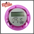 Pink Cute Digital LCD Kitchen Cook Number Timer Stop Watch Count Down Clock Alarm