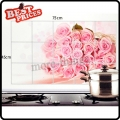 17.7*29.5 inch Oil Proof Aluminum Foil Sticker Kitchen Wall Paper Decal