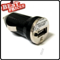 New USB Mini Car Charger Adapter Plug Accessory For iPhone 3 4 4S Black