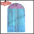 Blue Dust-proof Clothes Cover Suit Dress Garment Bag Non-Woven 60*110cm--B