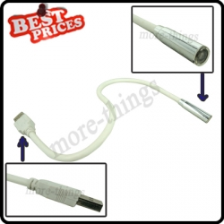 Flexible USB 1Led Lamp Light Torch For Laptop Notebook Computer PC Reading Night