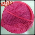 Rose Red Convenient Mesh Collapsible Laundry Hampers Laundry Bag Basket Easy Open