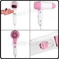 Portable Super Traveller Mini Folding Foldable Hair Compact Blower Hair Dryer