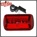 Bicycle Bike Cycling 5 Led Tail Rear Safety Flash Light Lamp Red